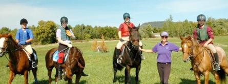 Vermont riding lessons at Triple Combination Farm, Ferrisburgh